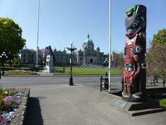 Parlamentsgebäude in Victoria, der Hauptstadt von British Columbia