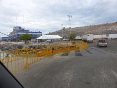 Ankunft im Hafen La Paz