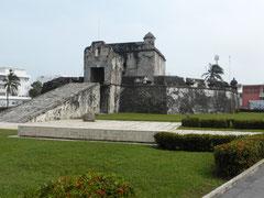 Die Festung Baluarte de Santiago