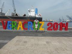 Im Hafen von Veracruz
