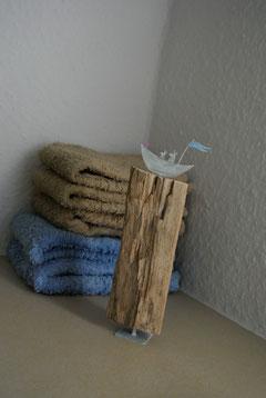 Treibholzskulptur