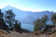 On the way down to the Segara Anak Lake