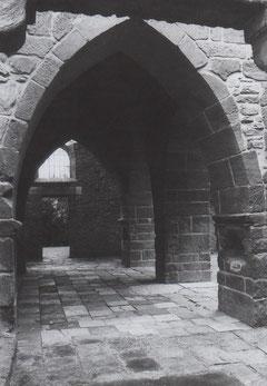 1 Erdgeschoss des Turmes von Süden