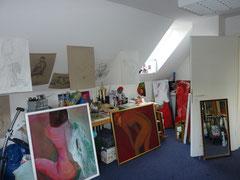 Blick ins Atelier