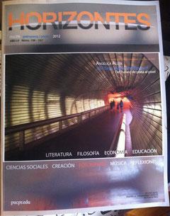 Portada revista Horizontes (Foto de portada por Angélica Allen)