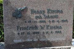 Ægtepar Henny og Friedrich W.KIRSTEN, Ravsted (Aufnahme:K.Kirsten 2012)