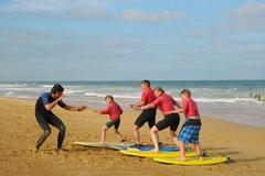 Le surf en Famille c'est génial
