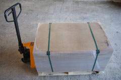 Palette Abdeckplatten