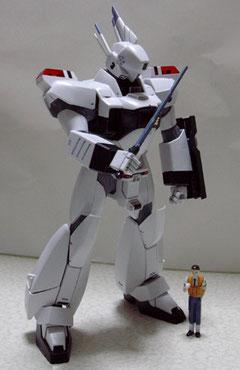 イングラム3号機と後藤隊長