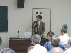 2011年6月12日:「人類考古学」講演風景