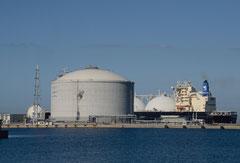 石狩LNG基地(画像提供:石狩市)