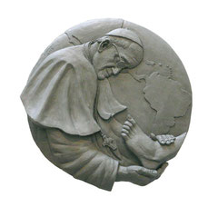 Pope Francis: An Early Sculpture