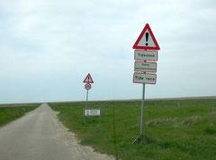 Auf dem Låningsvejen geht es vom Festland nach Mandø. Foto: C. Schumann