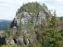 Klettern im Elbsandsteingebirge