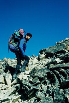Anstieg auf den Huayna Potosi (Bolivien)