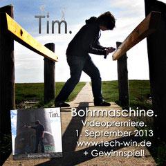 Bohrmaschine. - Videopremiere am 1. September 2013!