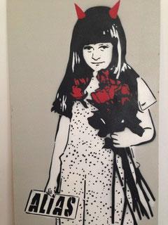 Ein Bild des Street Art Künstlers ALIAS aus Berlin.