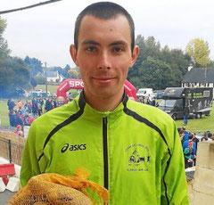 Mathias Fouquet s'est imposé à domicile sur le 24 km.