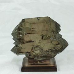 Smoky Quartz Gwindel Mont Blanc France