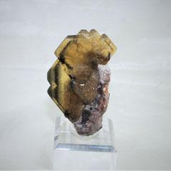 Epidote with Quartz Pampa Blanca Mine Huancavelica Peru