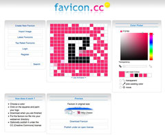 favicon.cc create your favicon in a matter of few seconds