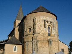 iglesia de Simacourbe (vic-bilh/madiran)