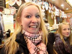 An dieser Stelle DANKE an Anika, die uns mit diesem wundervollen Gesichtsausdruck, den Tag bereichert *haha*