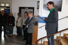 Horst Martin, 2. Bürgermeister von Weilheim, begrüßte die Gäste