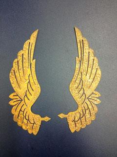 Engelflügel Anael rostig