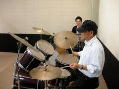 ドラム教室講座の様子