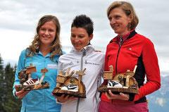 Tanja (3.), Renate (1.) und Karin (2.)