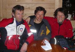 Hansjörg, Mike und Martin
