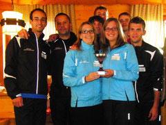 Siegreiche Südtiroler Mannschaft
