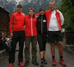 Jürgen, Thomas, Martin und Kurt