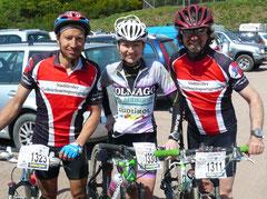 Mike, Renate und Martin