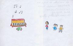 Dibujo de Marcela Mena 9 años