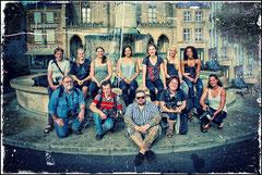 Gruppenbild der Akteure