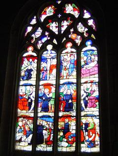 verrière de l'église St Conogan