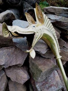 Carnyx Gallien Gallisch France Frankreich Trompete Keltisch Kelten