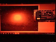 Die Andromeda-Galaxie M31 auf dem Radar