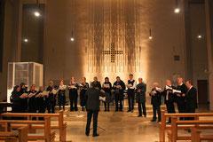 Die Capella Palestrina bei einem Konzert in Rheinhausen 2014