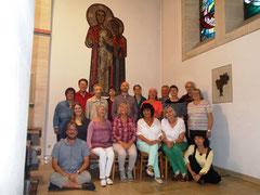 Die Chorgemeinschaft Canisius 2016 in ihrer Kirche