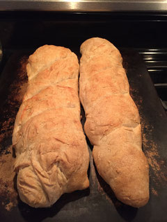 Make bread on Sunday and freeze it until you need it on Thursday.