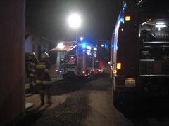 Kaminbrand in Kuffern