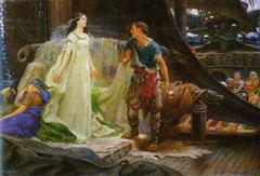 Herbert J. Draper: Tristan and Isolde, 1901