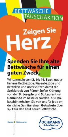Unternehmer unterstützt unsere soziale Arbeit in Kassel erneut
