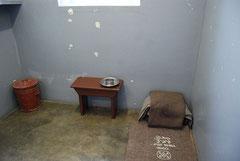 Mandelas Zelle auf Robben Island (Paul Mannix)