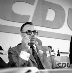 Der Parteiführer (Foto: Slomifoto/KAS-ACDP)