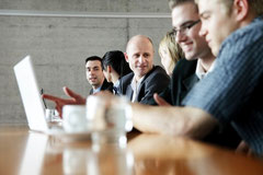 Meeting, Diskussion, Besprechnung