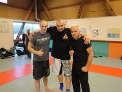 Daniel Lonéro, Pascal Gilles et Robert